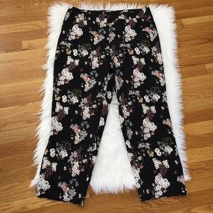 Cynthia Rowley Floral Stretchy Pants